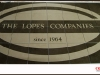 waterjet ceramic medallion, The Lopes Companies