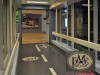 waterjet rubber floor, Dana Farber PMC walkway