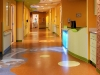 waterjet rubber floor, hospital NH 1