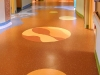 waterjet rubber floor, hospital NH 3