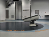 waterjet rubber floor, MRI Amigo Suite