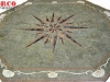 waterjet stone medallion