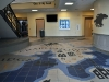 waterjet porcelain floor, Revere School