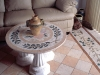 Private Residence - waterjet, mosaic floor and table