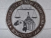 UNH Law Medallion - waterjet & etched
