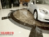 Lexus Dealership - waterjet stone