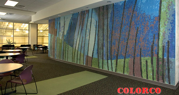 Public Art Mosaics Colorco Ltd Custom Surface Design